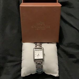 Coach Square Watch